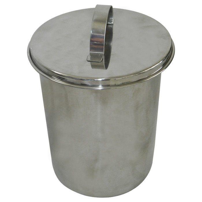 Copo em Aço Inox Com Bico e Tampa 2 Litros