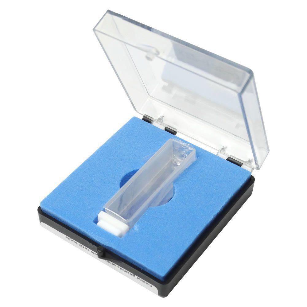 Cubeta em Quartzo 3,5mL 10mm com 2 faces Polidas