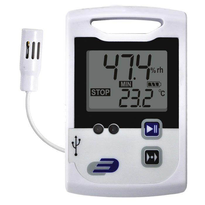 Data Logger Temperatura e Umidade Log110 EXF Ref. 3030.22
