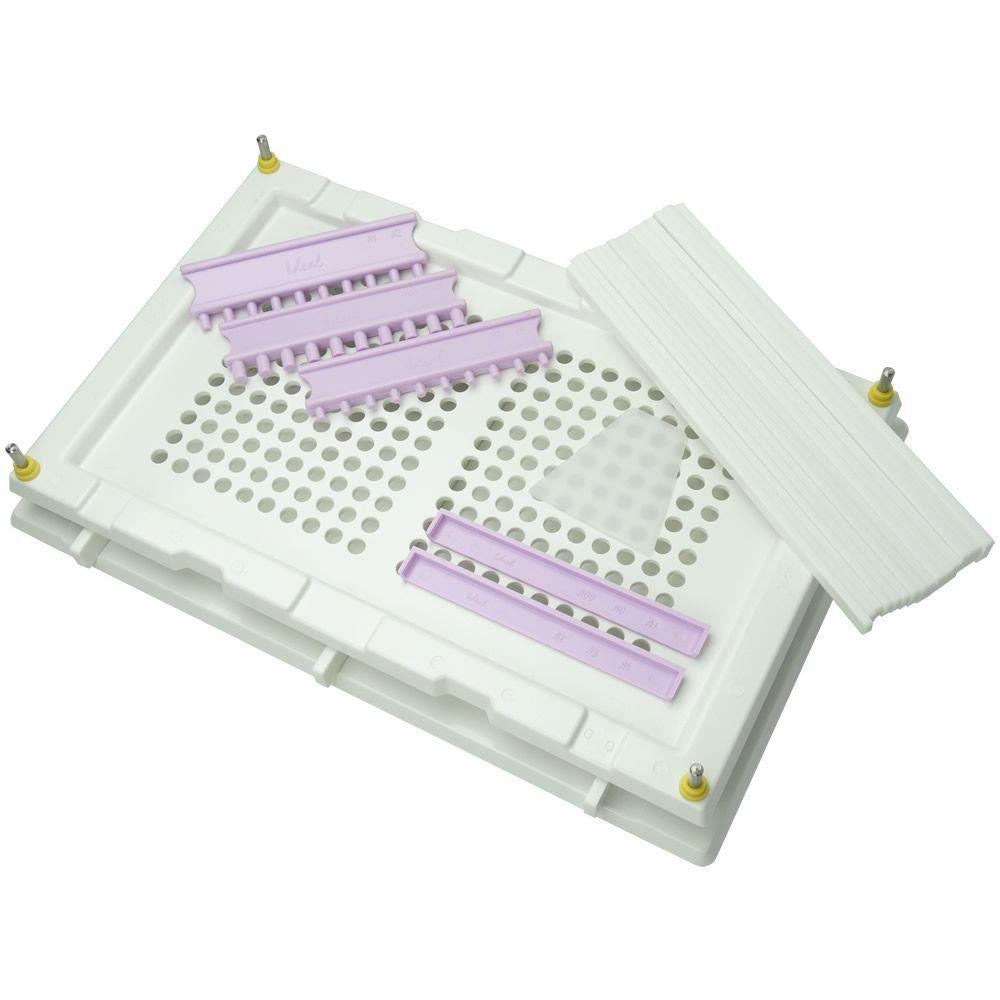 Encapsuladora Manual 240 furos Color Plus Branca
