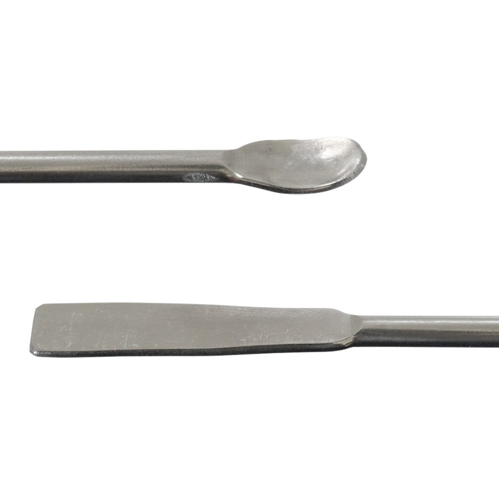Espátula de Arame de Aço Inox com Micro Colher 17cm