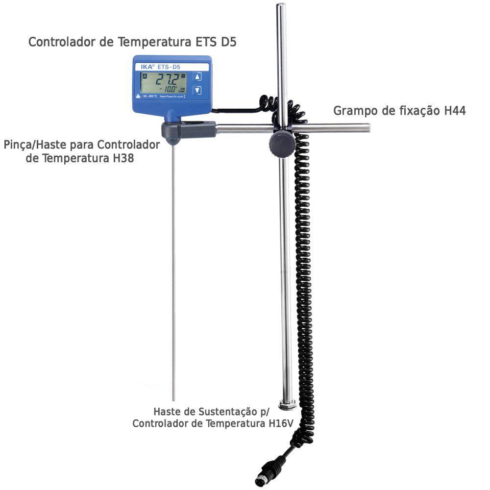 Haste de Sustentação para Controlador de Temperatura H16V
