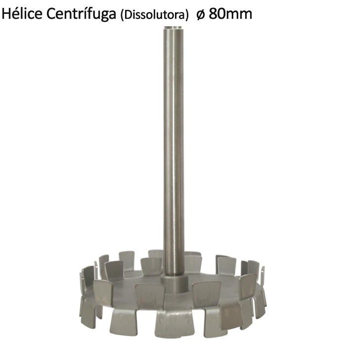Hélice Centrífuga (Dissolutora) ø80x600mm Ref. 200.370