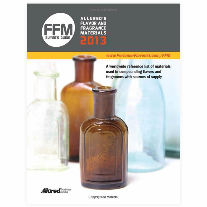 Livro - Allured's Flavor and Fragrance Materials (FFM) Guide 2013