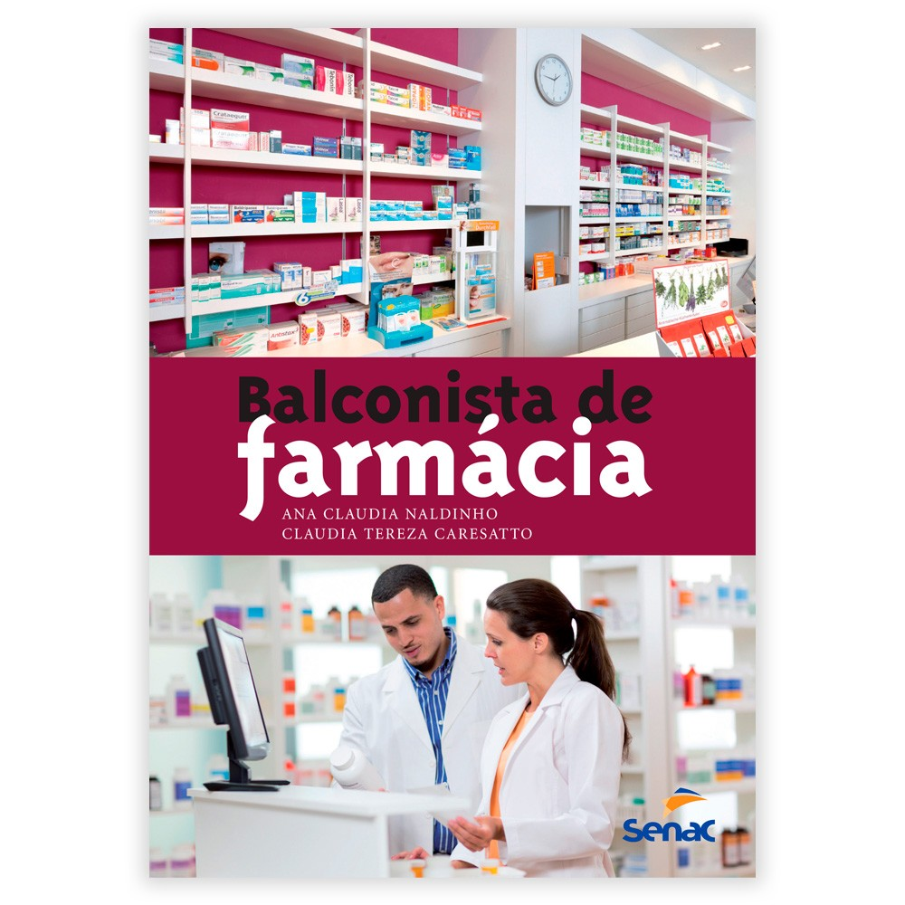 Livro - Balconista de Farmácia 2ª Edição Revisada e Atualizado