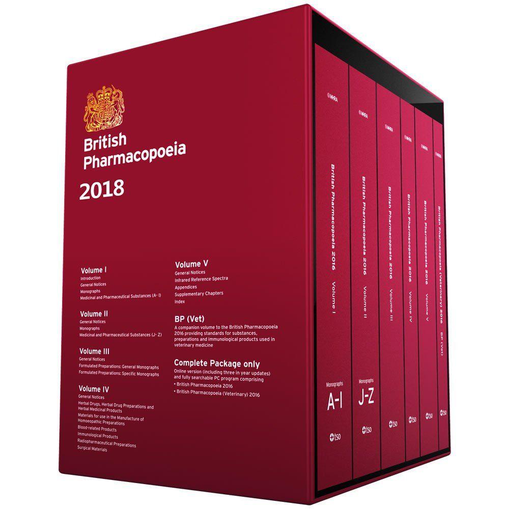 Livro - British Pharmacopoeia Completo (Livro + Acesso Online + Download) Edição 2018