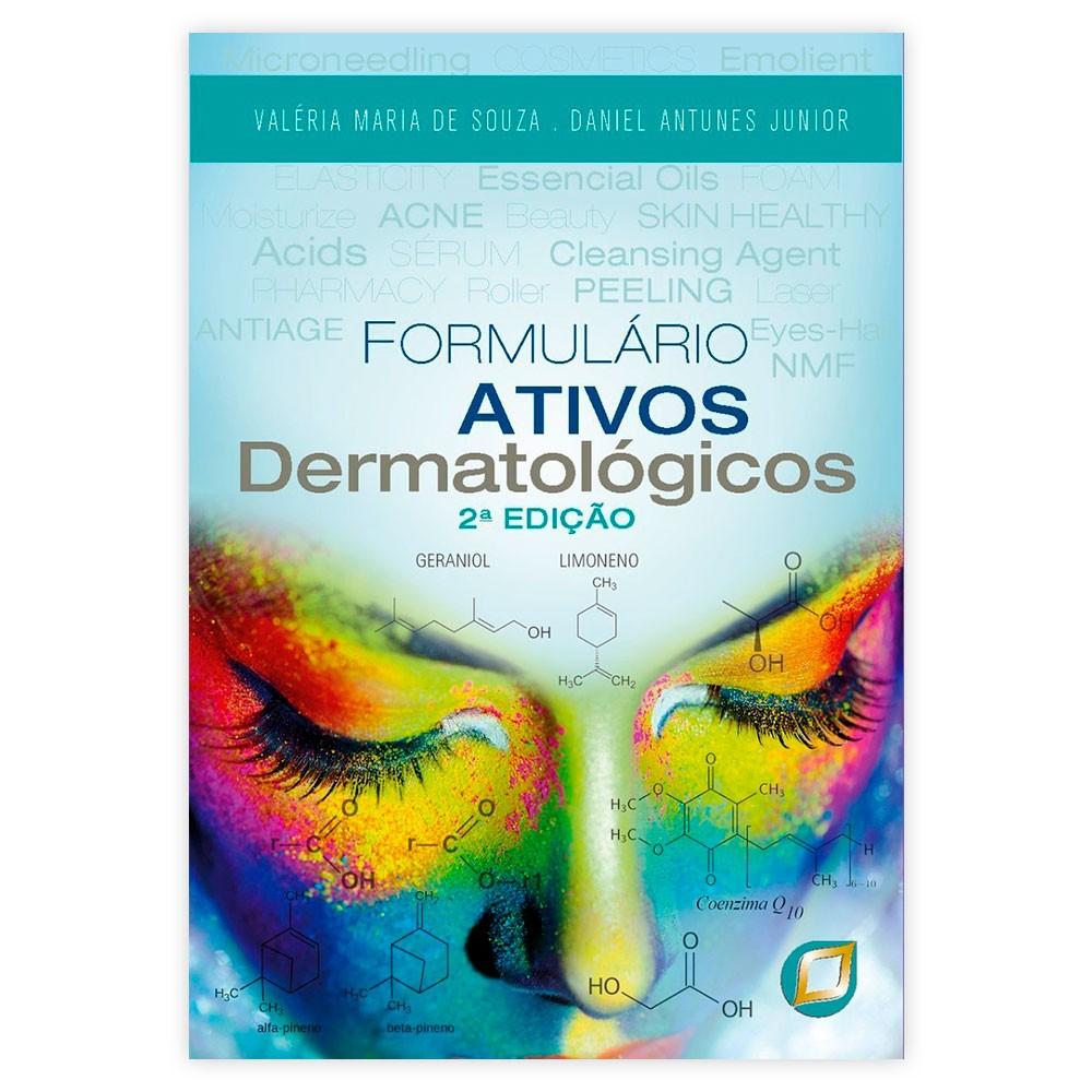 Livro - Formulário Ativos Dermatológicos 2ª Edição Ano 2020