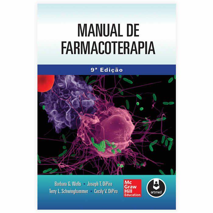 Livro - Manual de Farmacoterapia 9ª Edição 2016
