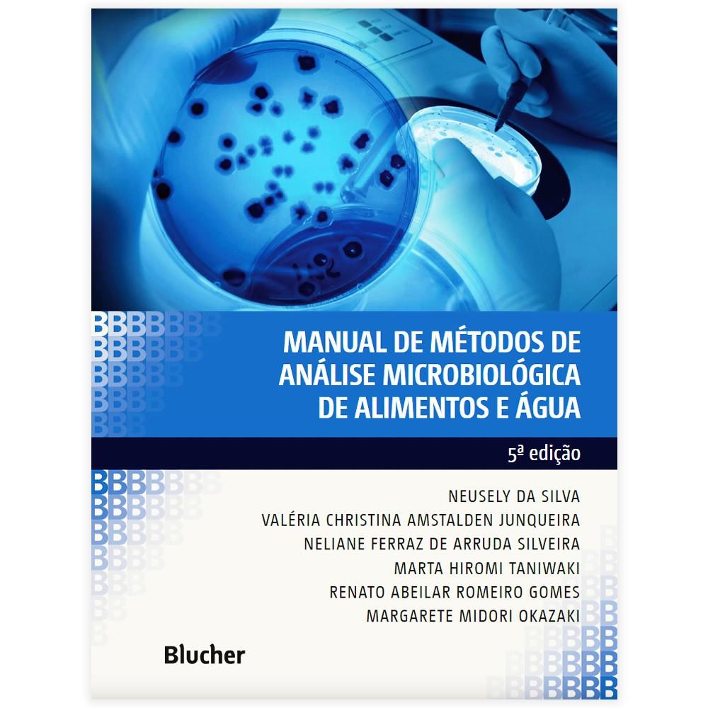 Livro - Manual de Métodos de Análise Microbiológica de Alimentos e Água 5ª Edição