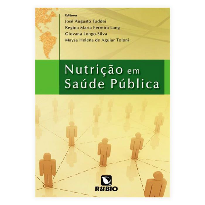 Livro - Nutrição Em Saúde Pública 1ª Edição
