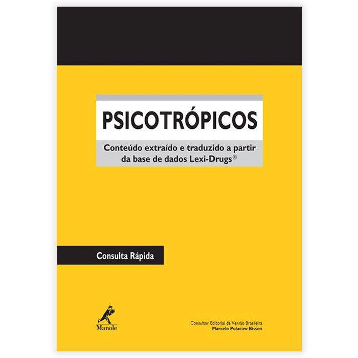 Livro - Psicotrópicos 1ª Edição