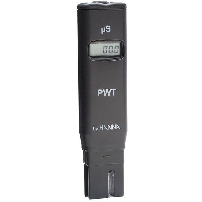 Medidor de Condutividade de Bolso para Teste Água Ultra Pura PWT Ref. HI 98308
