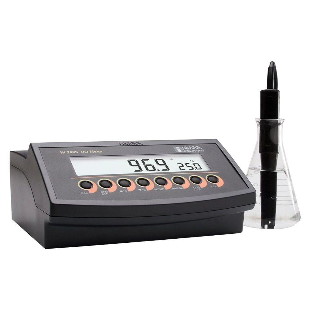 Medidor de Oxigênio Dissolvido de Bancada 220V Ref. HI2400-02