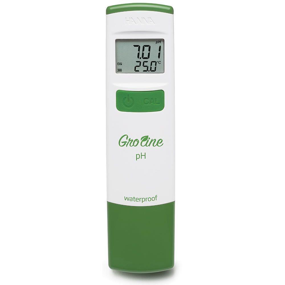 Medidor de pH de Bolso Impermeável para Hidroponia Ref. HI98118