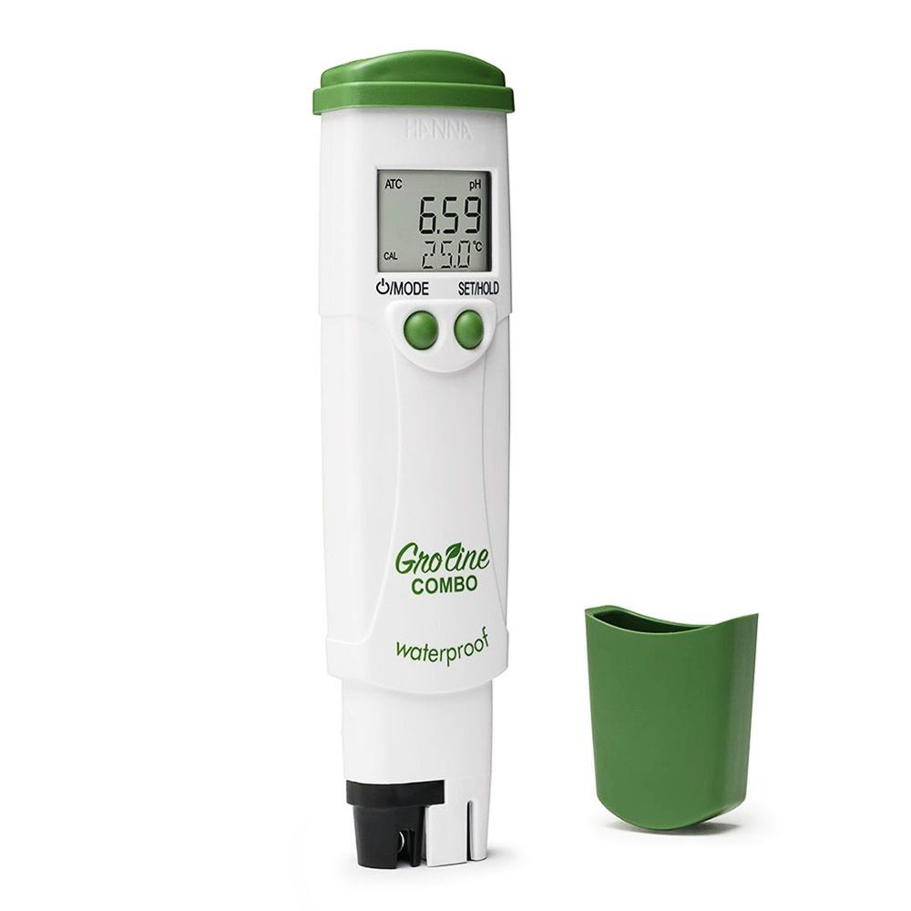 Medidor de pH / EC / TDS / Temperatura (Combo) para Hidroponia Ref. HI98131