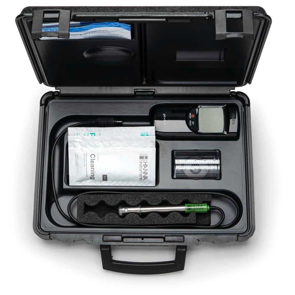 Medidor de pH/pH-MV/ORP/Temperatura Portátil Ref. HI 991003