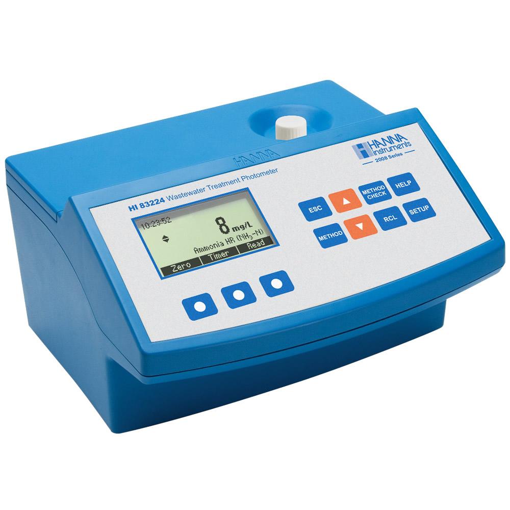 Medidor DQO e Fotômetro Multiparâmetro com Reconhecimento de Códigos de Barras dos Vials Ref. HI83224-02
