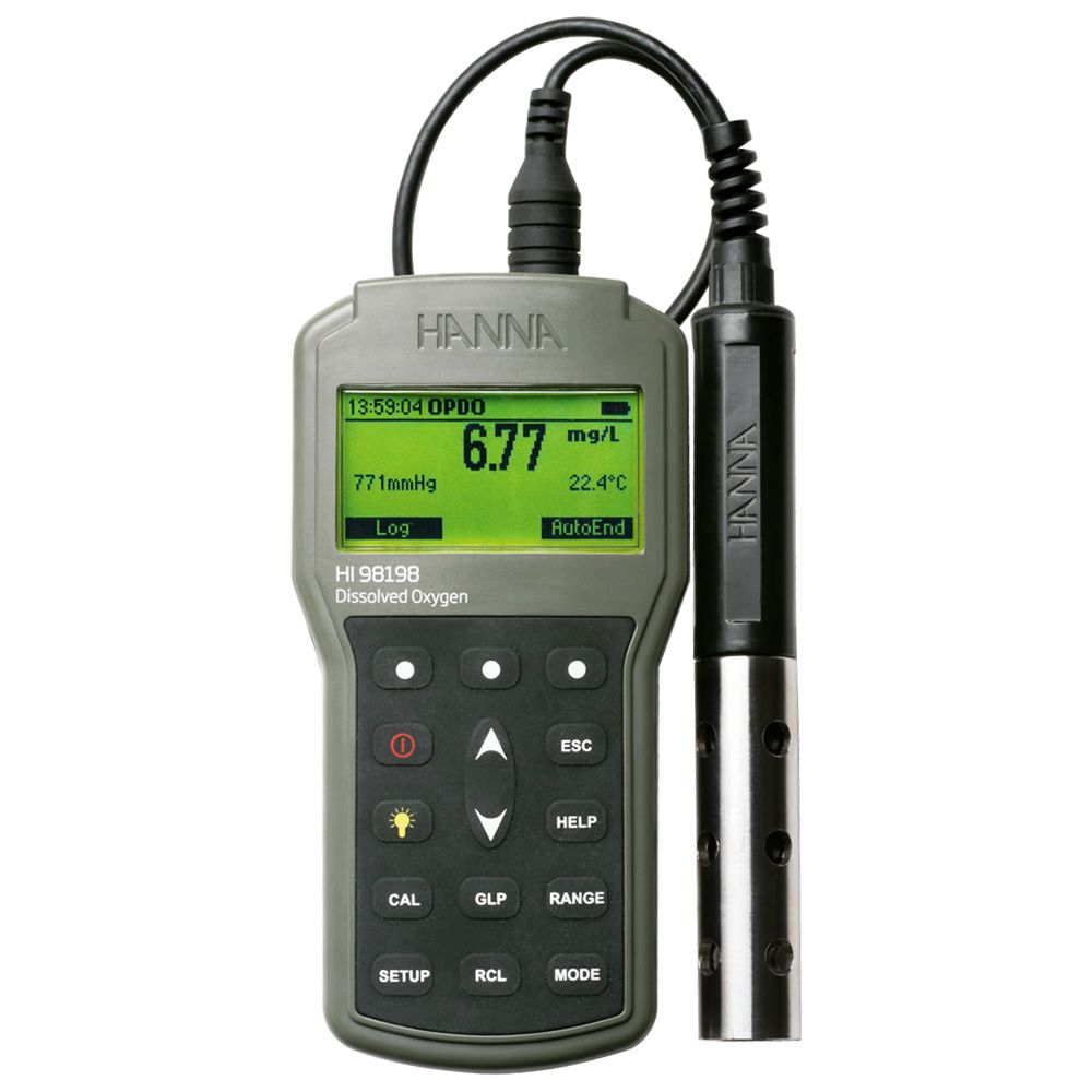Medidor Óptico de Oxigênio Dissolvido Ref. HI 98198