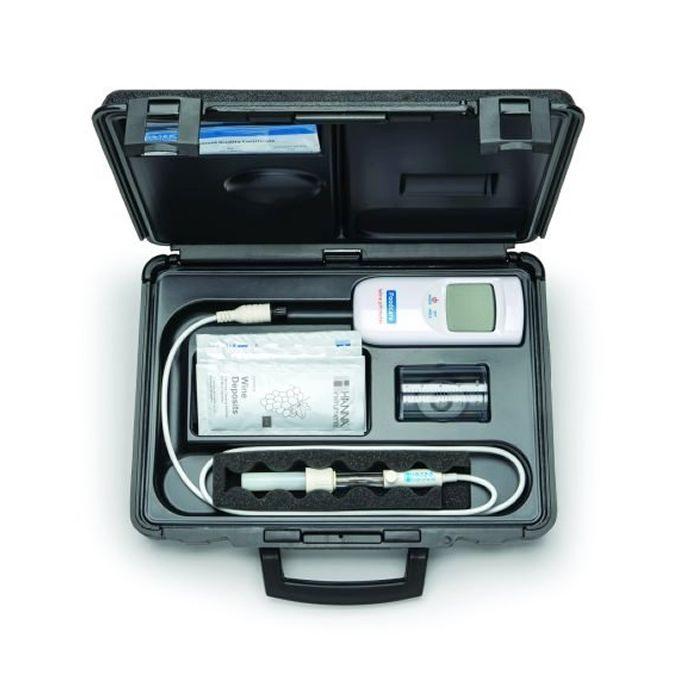 Medidor de pH Portátil para Vinho Ref. HI 99111