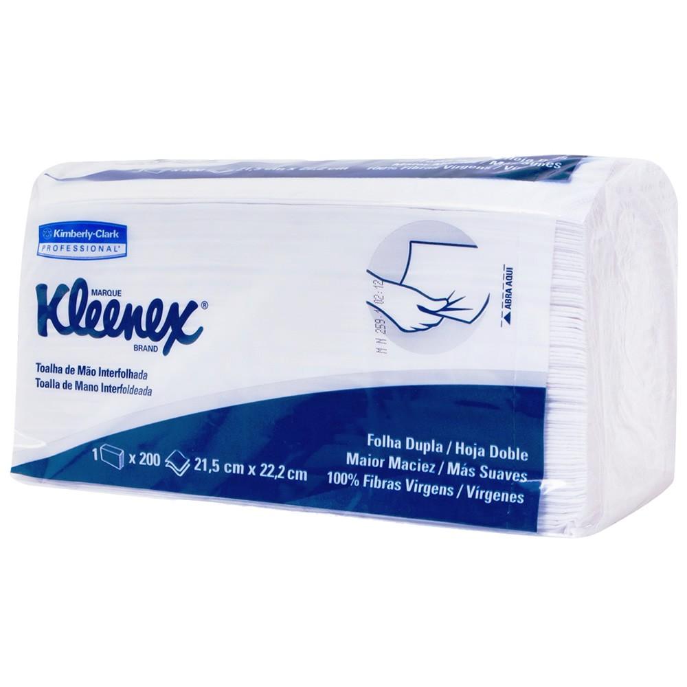 Papel Toalha Folha Dupla Interfolhada Kleenex