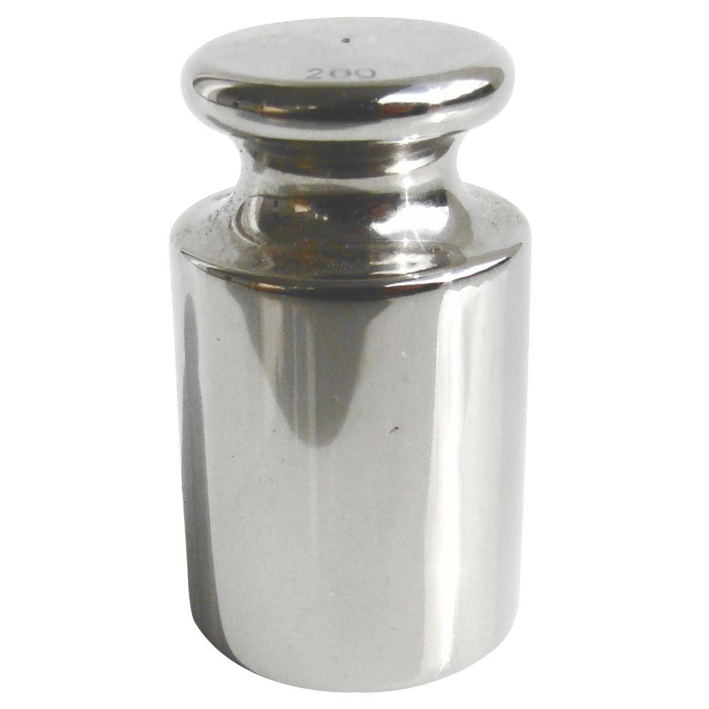 Peso Padrão em Aço Inox M1 - 1kg Com Certificado RBC e Estojo de Plástico