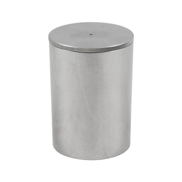 Picnômetro em Alumínio Polido