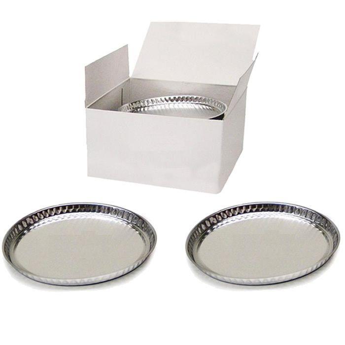 Prato de Alumínio Descartável para Balança Determinadora de Umidade MOC63u