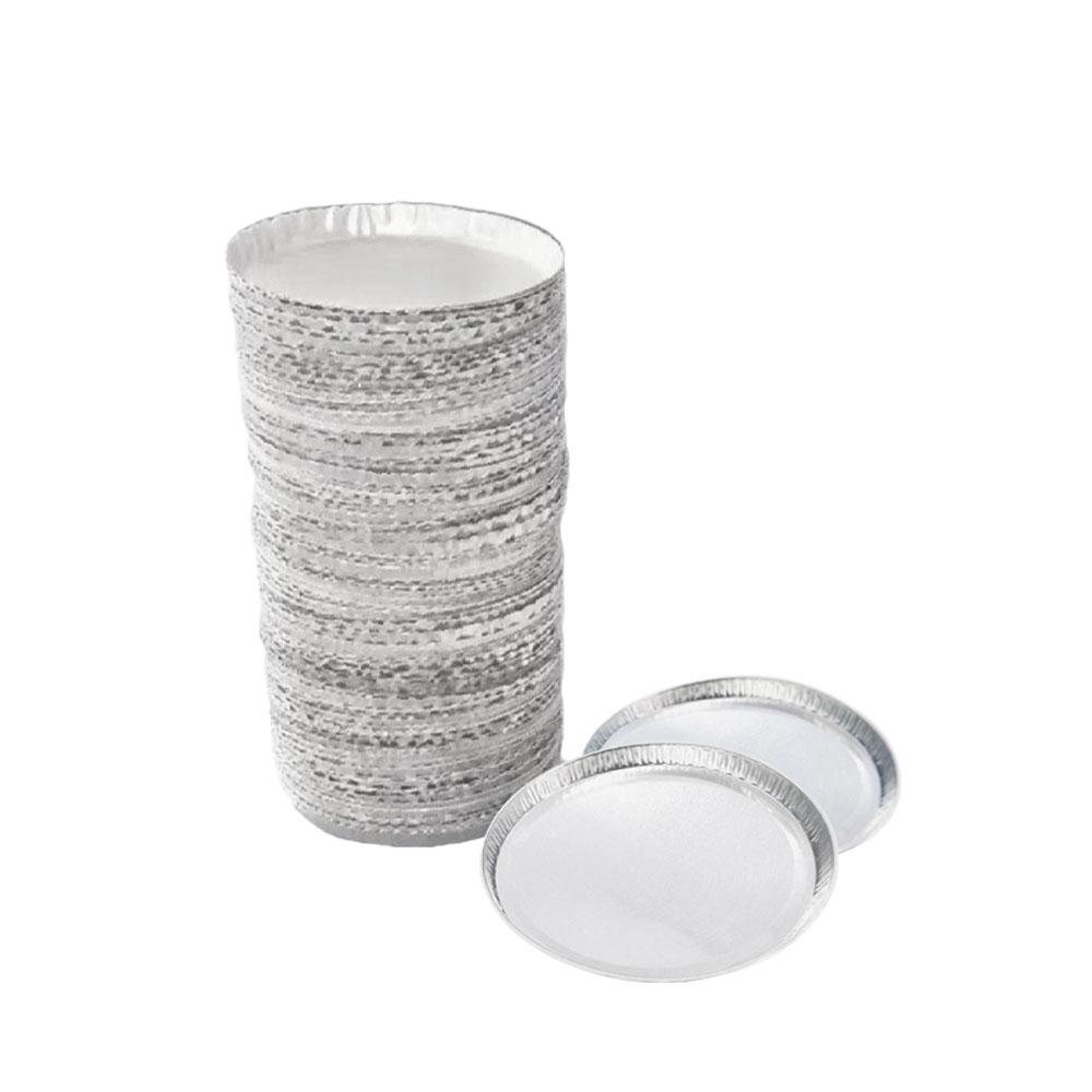 Prato em Alumínio - Pacote com 50 peças