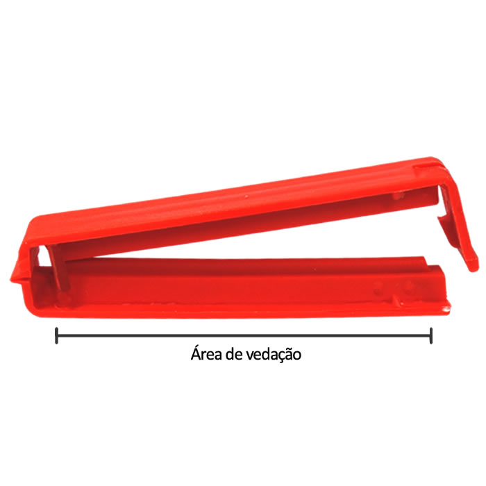 Clipe de Vedação / Presilha para Fechar Embalagens