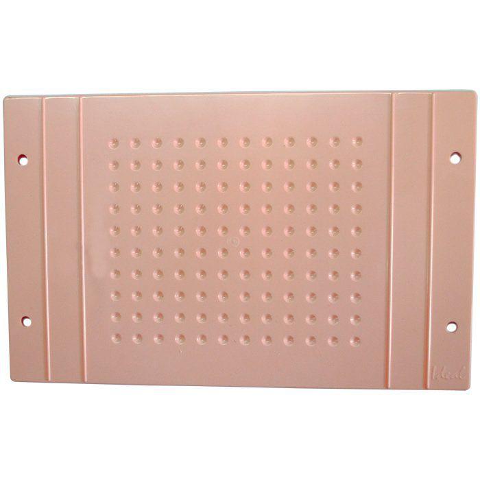 Protetor de Base 120 Furos para Encapsuladora Color Plus Rosa