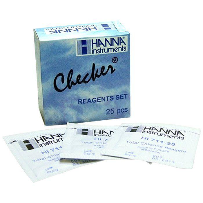 Reagente para Cloro Total com 25 Testes Ref. HI 711-25