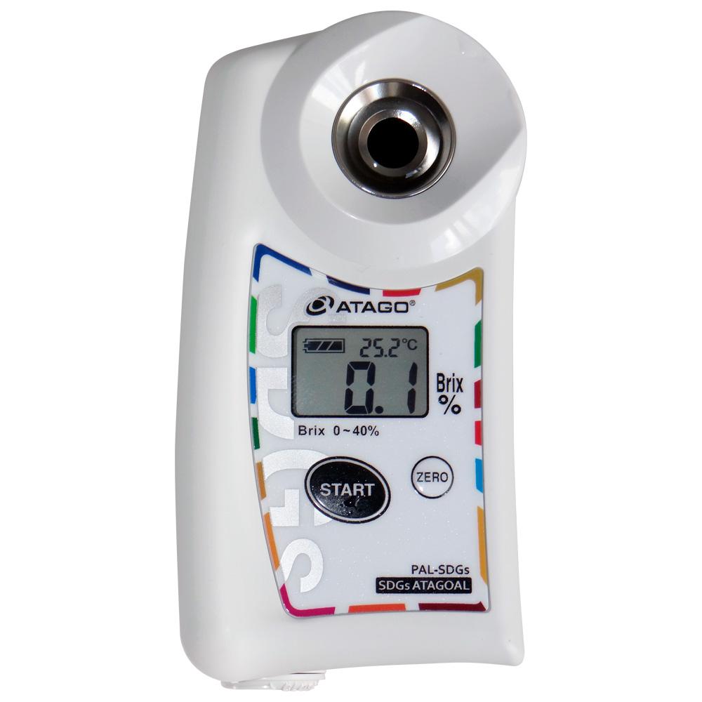 Refratômetro Digital de Bolso para Brix 0-40% PAL-SDGs Atagoal 3890