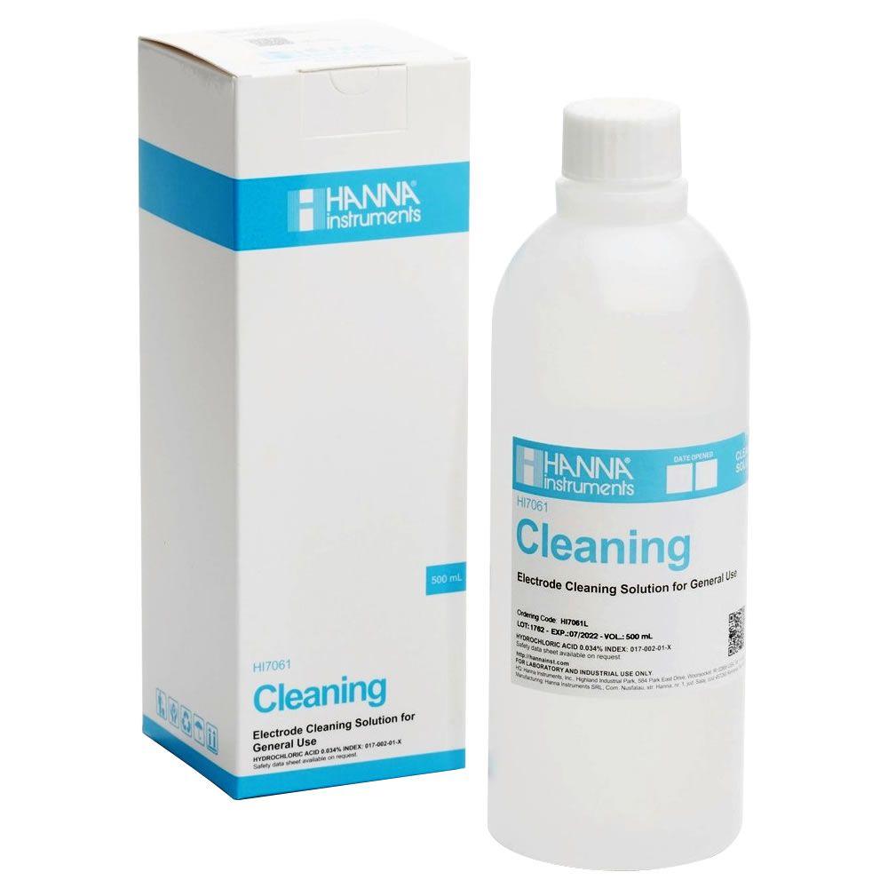 Solução para Limpeza Geral do Eletrodo 500mL Ref. HI 7061L