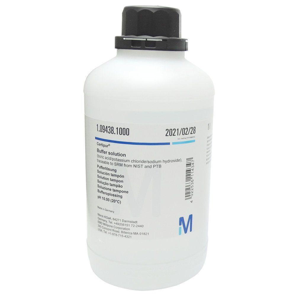 Solução Tampão pH 10,00 Buffer (Certipur) 1000mL Ref. 1094381000