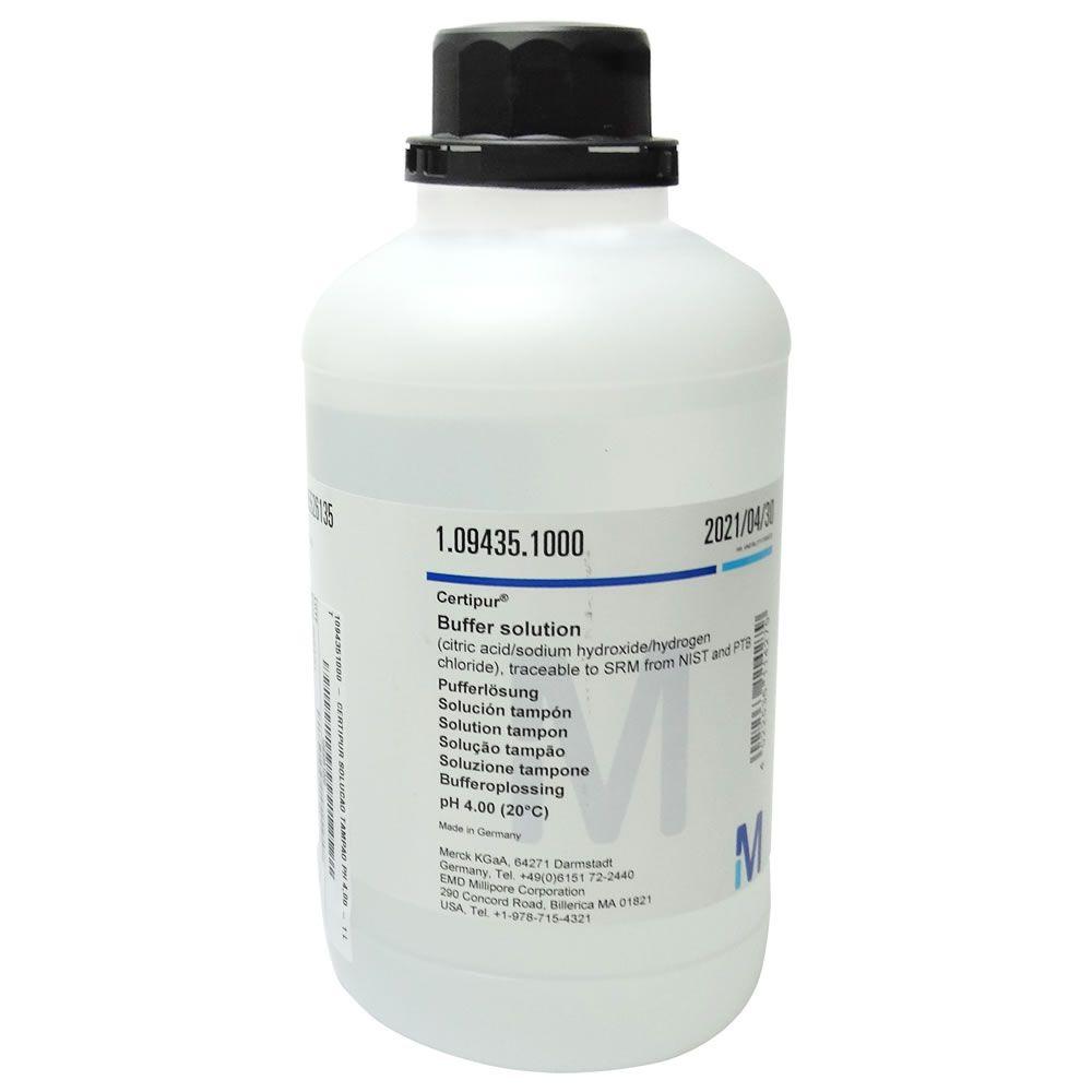 Solução Tampão pH 2,00 Buffer (Certipur) 1000mL Ref. 1094331000