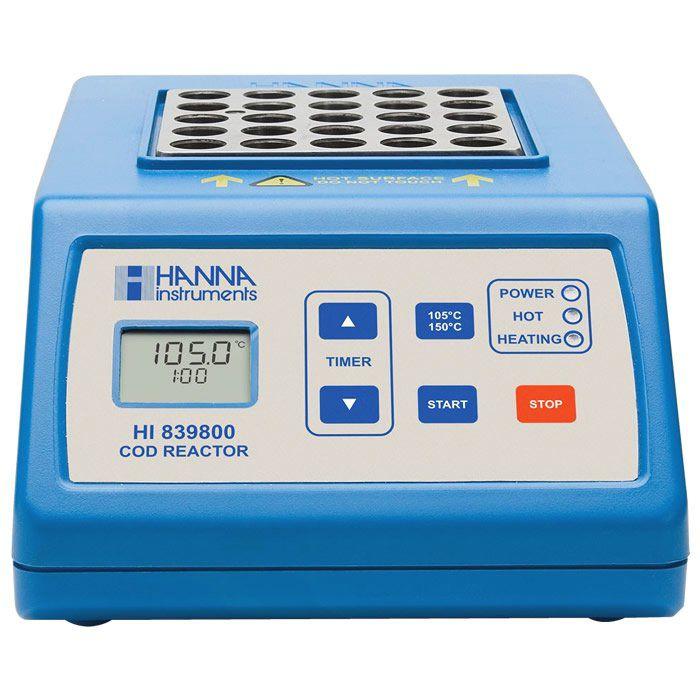 Termo-Reator de Tubos de Ensaio para DQO Ref. HI839800-02