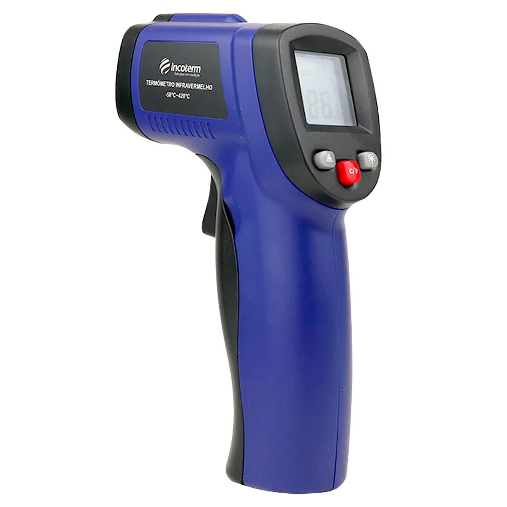 Termômetro Infravermelho Mira Laser -50+420ºC (Pirômetro) Ref. ST-400
