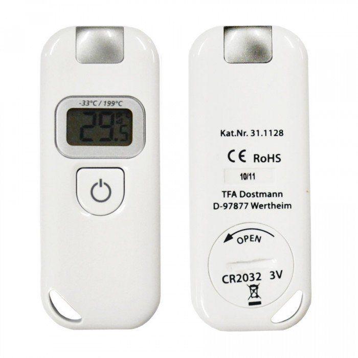Termômetro Infravermelho Sem Mira Laser -33+199ºC Ref.7671.01.0.00