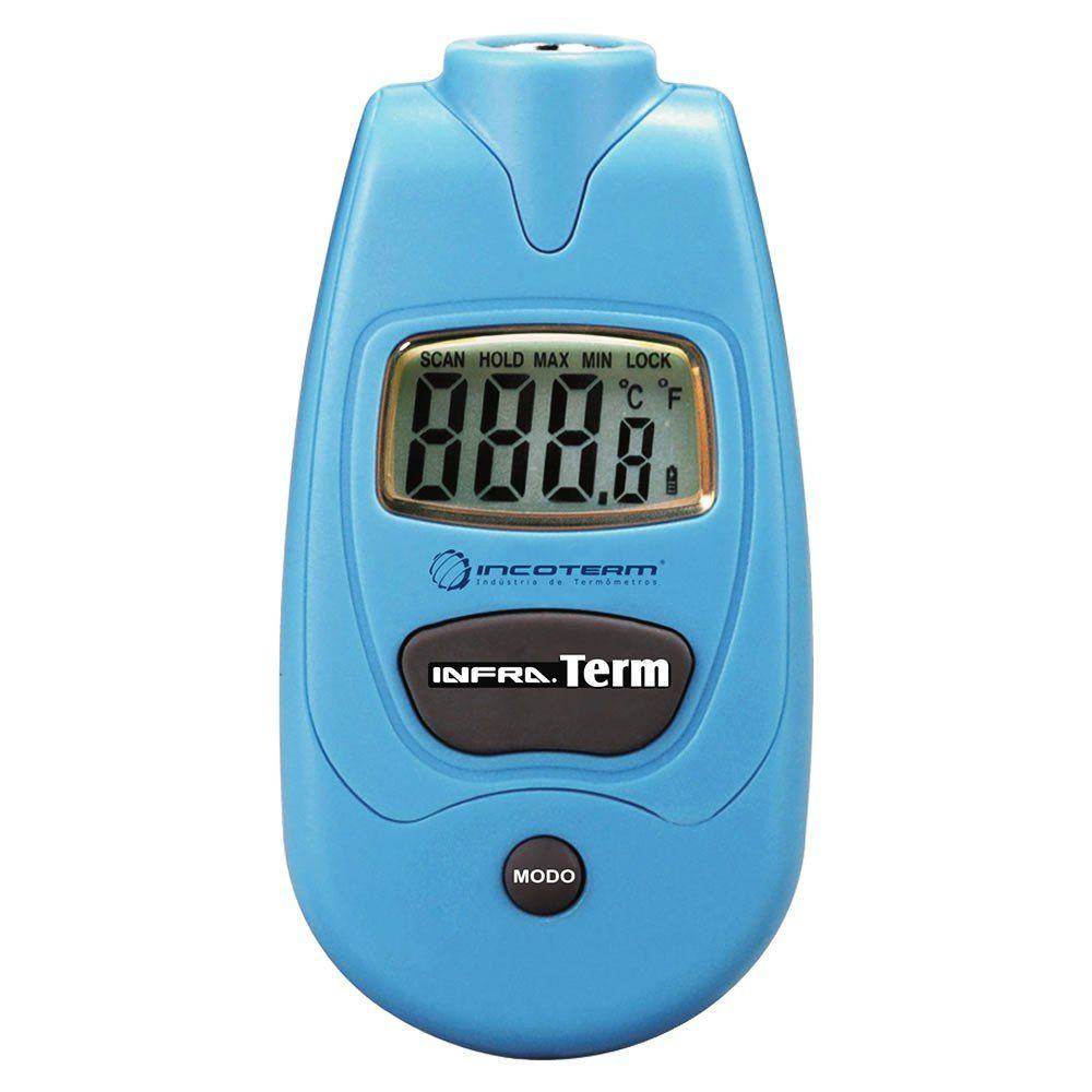 Termômetro Infravermelho Sem Mira Laser -35+230ºC Ref.7660.01