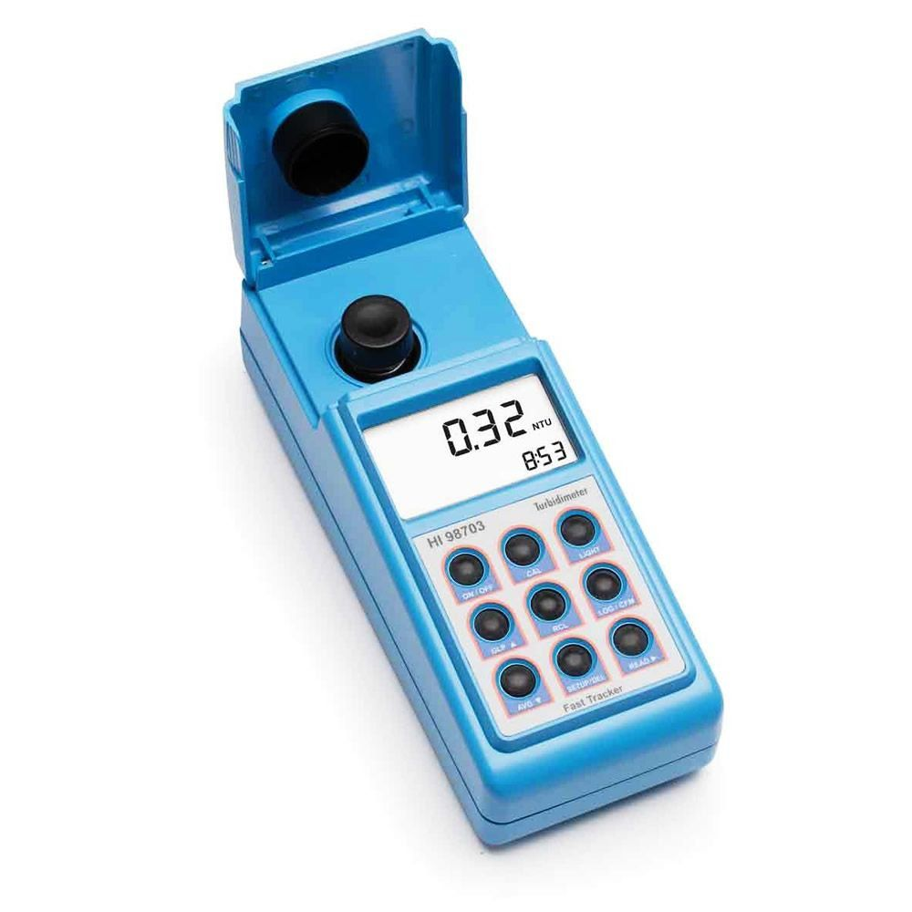 Turbidímetro Portátil 0-1000 FTU Fast Tracker EPA Ref. HI98703-02