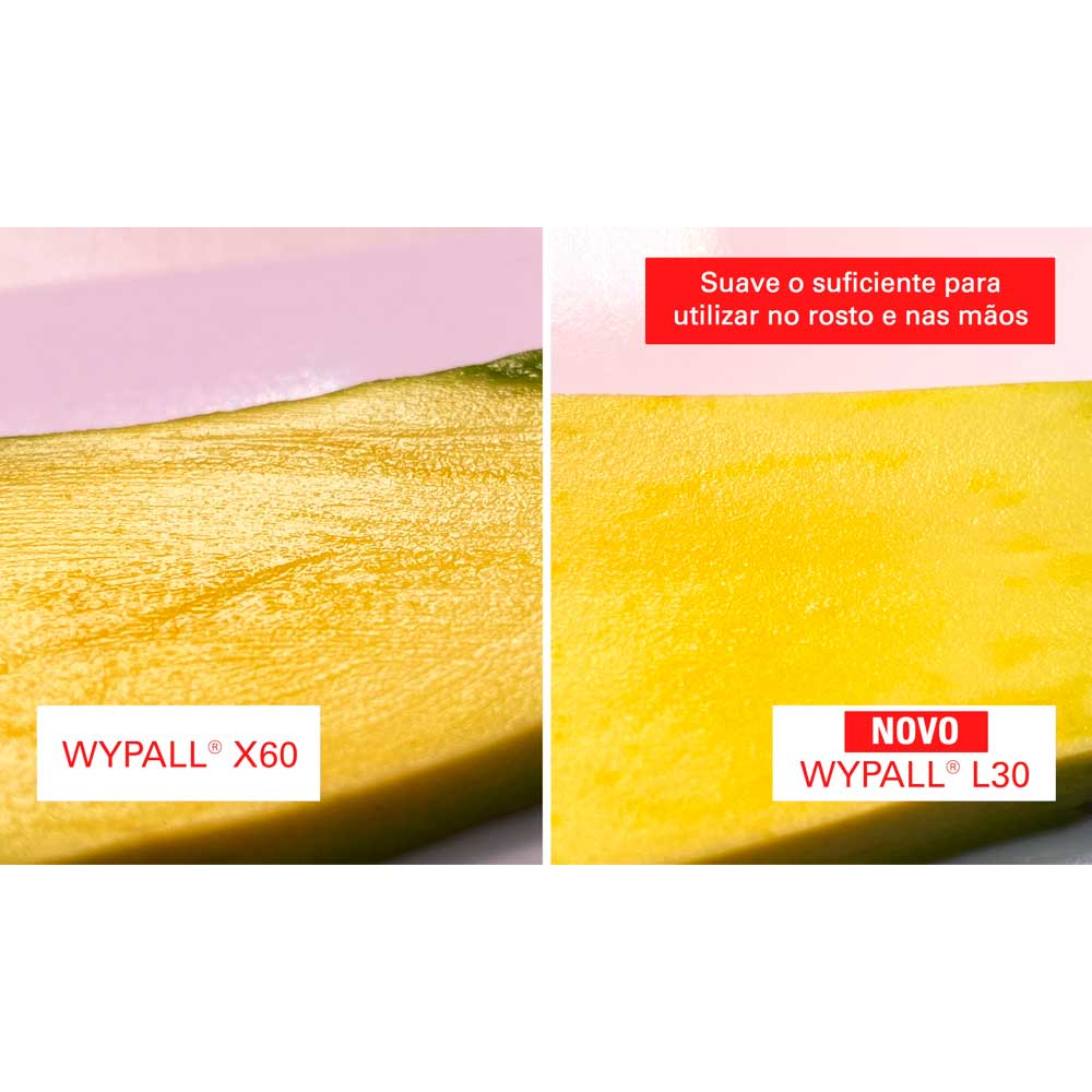 Wiper Wypall L30 Pano Limpeza Ultra Macio - Pacote com 90 panos