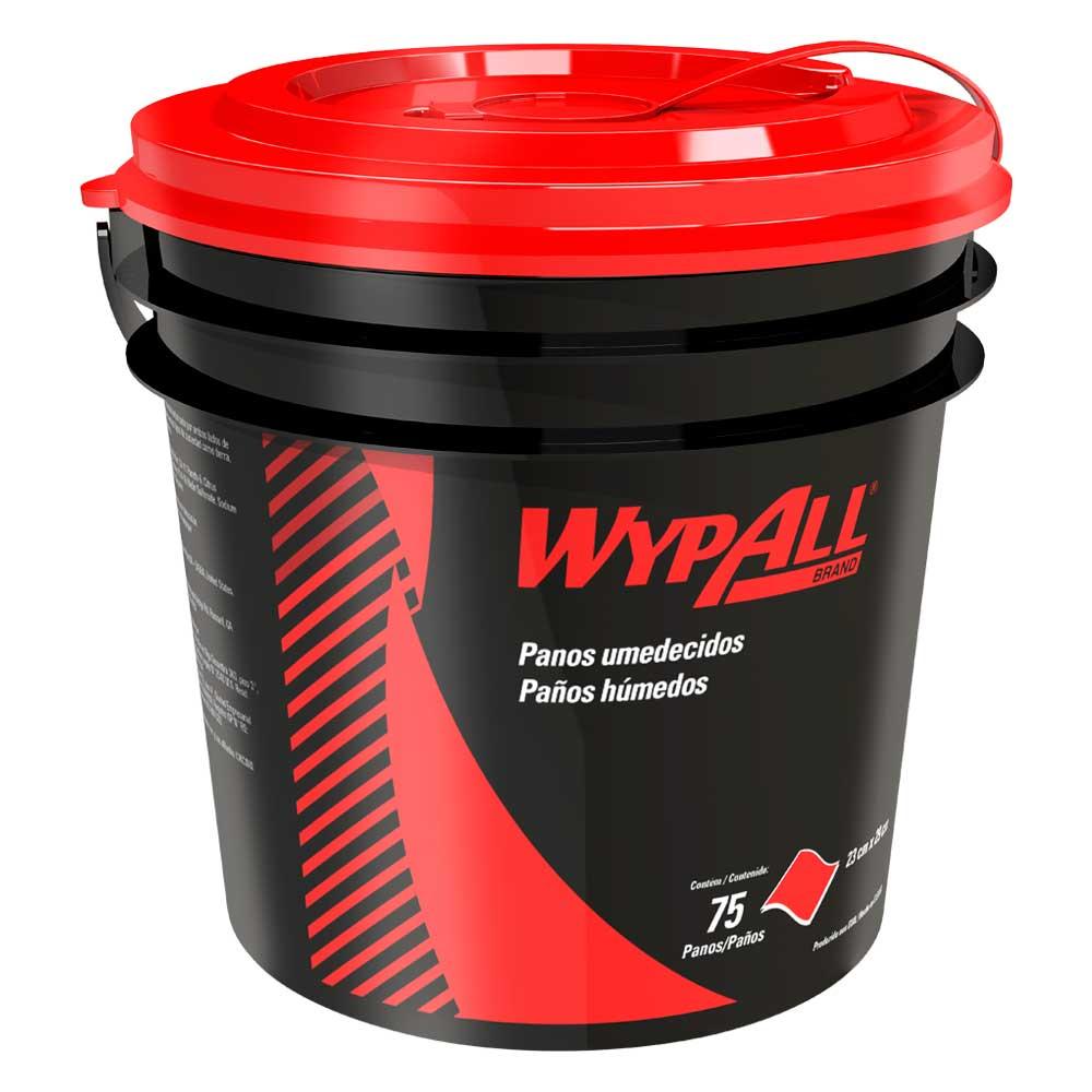 Dispenser com Wipers Umedecidos Sistema de Limpeza Waterless - Acompanha 75 panos .