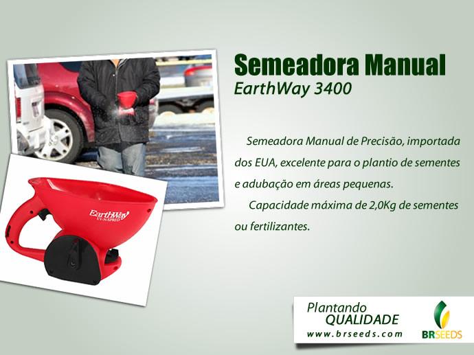 Semeadora Manual Earthway 3400