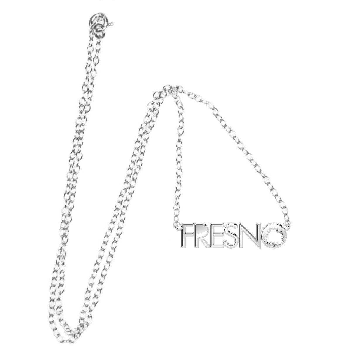 Colar Prata Fresno - Logo