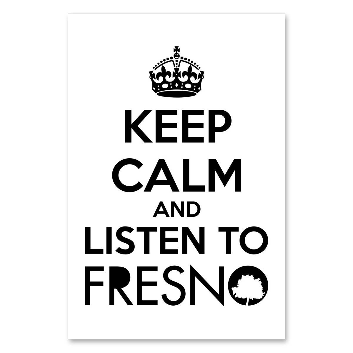 Pôster Fresno - Keep Calm