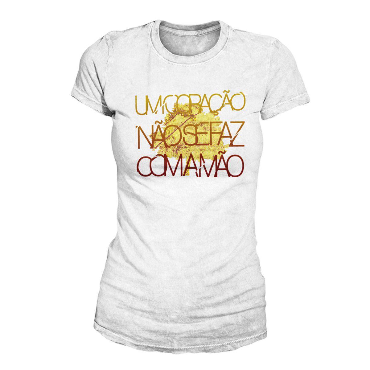 Camiseta Feminina Fresno - Coração Modelo 1