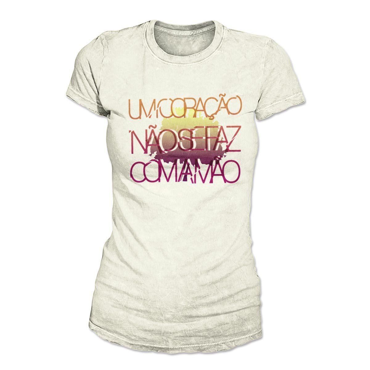 Camiseta Fresno Feminina - Coração Modelo 2