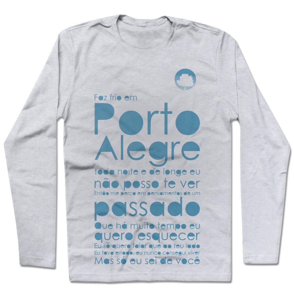 Camiseta Manga Longa Fresno - Porto Alegre