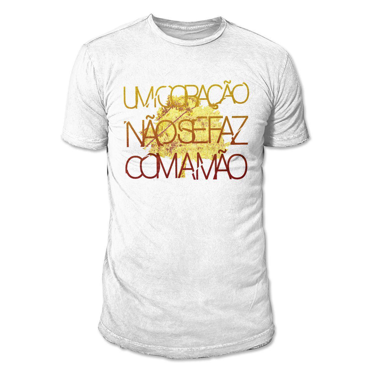Camiseta Masculina Fresno - Coração Modelo 1