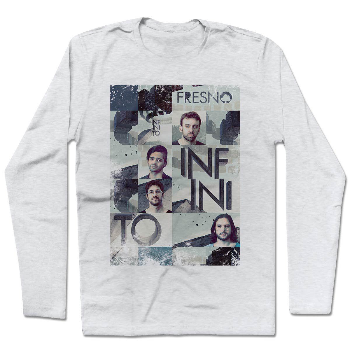 Camiseta Manga Longa Fresno - Mosaico Infinito